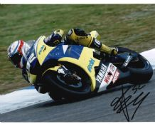 James Toseland Autograph Signed Photo